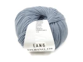 Lang Yarns Merino 120 0123 Grijsblauw