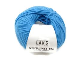 Lang Yarns Merino 120 0178 Turquoise