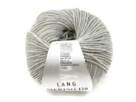 Lang Yarns Merino 120 0223 Zilvergrijs Melange