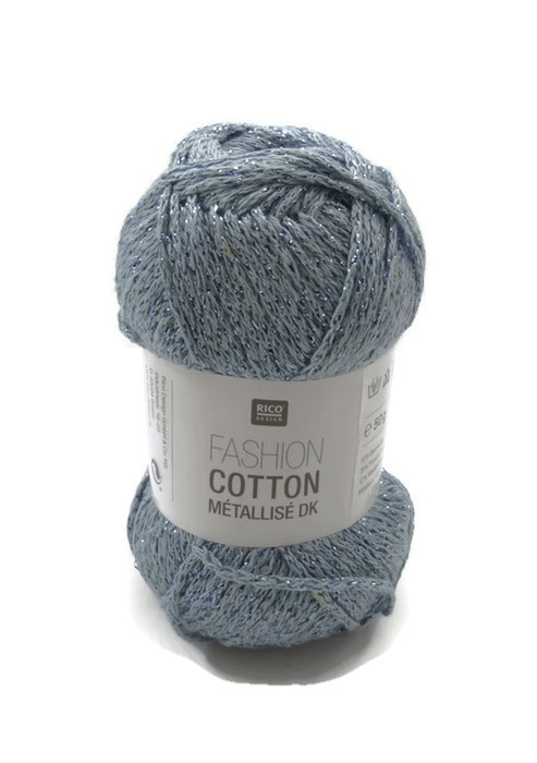 Rico Design Fashion Cotton Métallisé 015