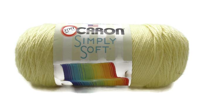 Caron Simply Soft 9785 Baby Sunshine