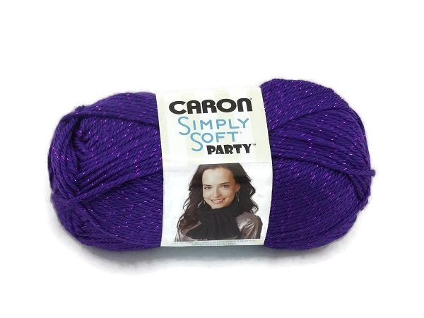 Caron Simply Soft Party 0006 Purple Sparkle
