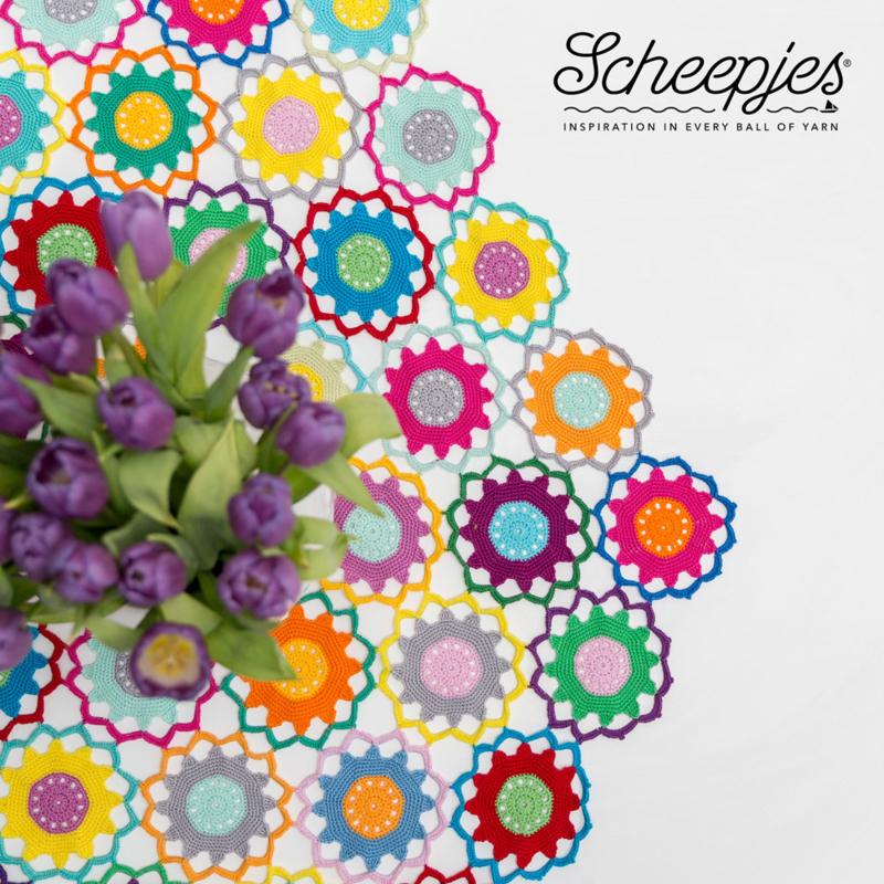 Scheepjes Garden Room Tablecloth Kit - Bright