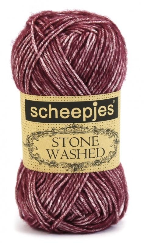 Scheepjeswol Stonewashed 810 Garnet