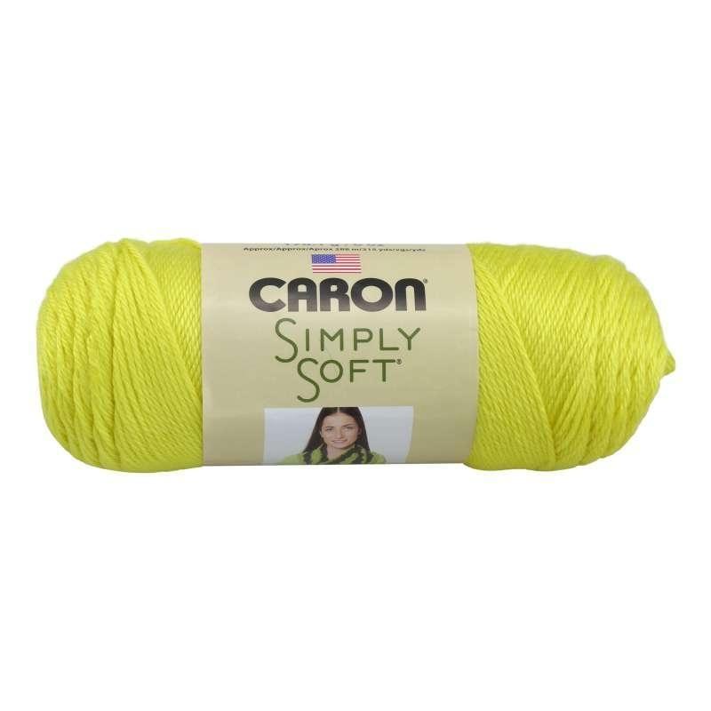 Caron Simply Soft 9612 Super Duper Yellow