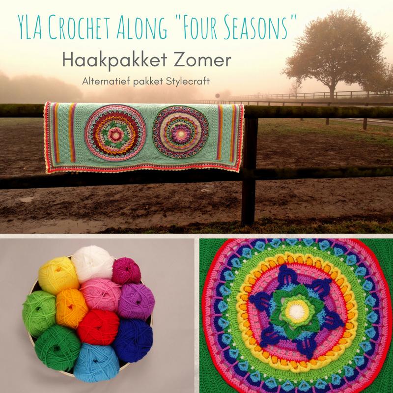 Alternatief Haakpakket YLA CAL Four Seasons - Stylecraft Special DK Zomer