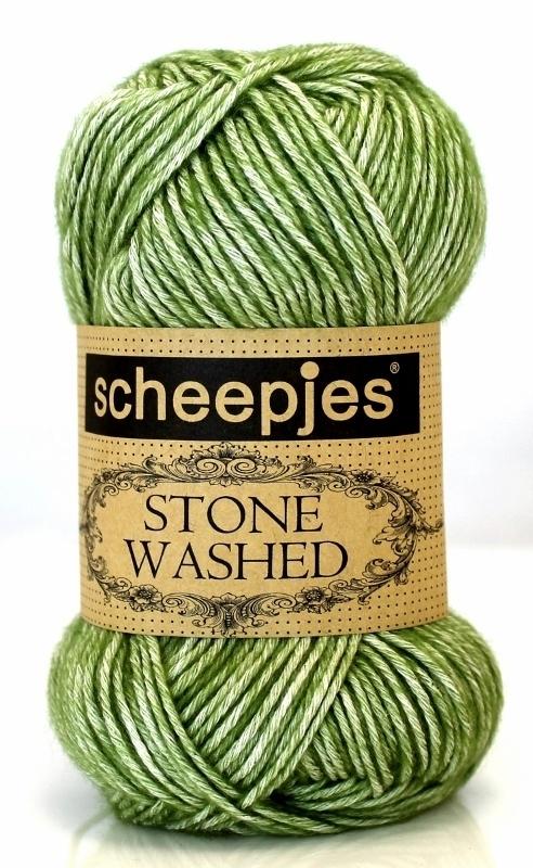 Scheepjeswol Stone Washed 806 Canada Jade