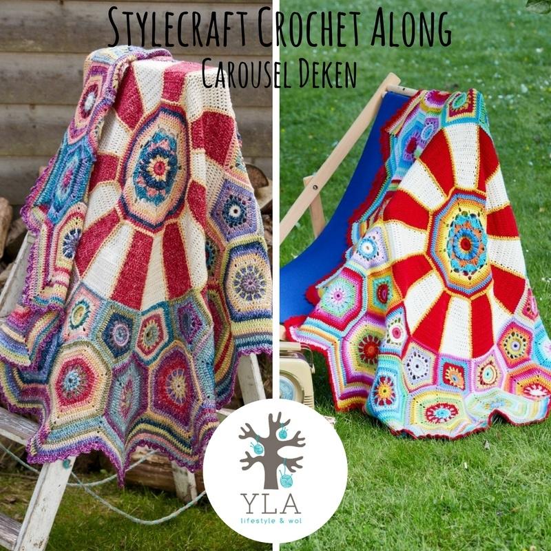 Haakpakket Stylecraft Carousel CAL 2016 - Special DK YLA Vintage