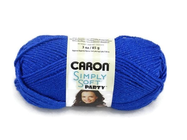 Caron Simply Soft Party 0005 Royal Sparkle