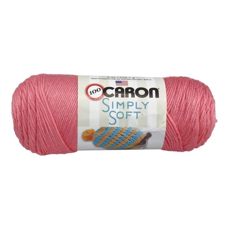 Caron Simply Soft 0015 Strawberry