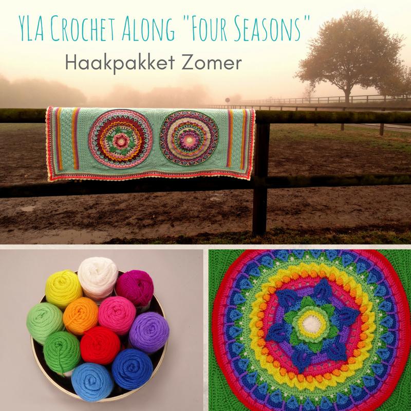 Haakpakket YLA CAL Four Seasons - Caron Zomer