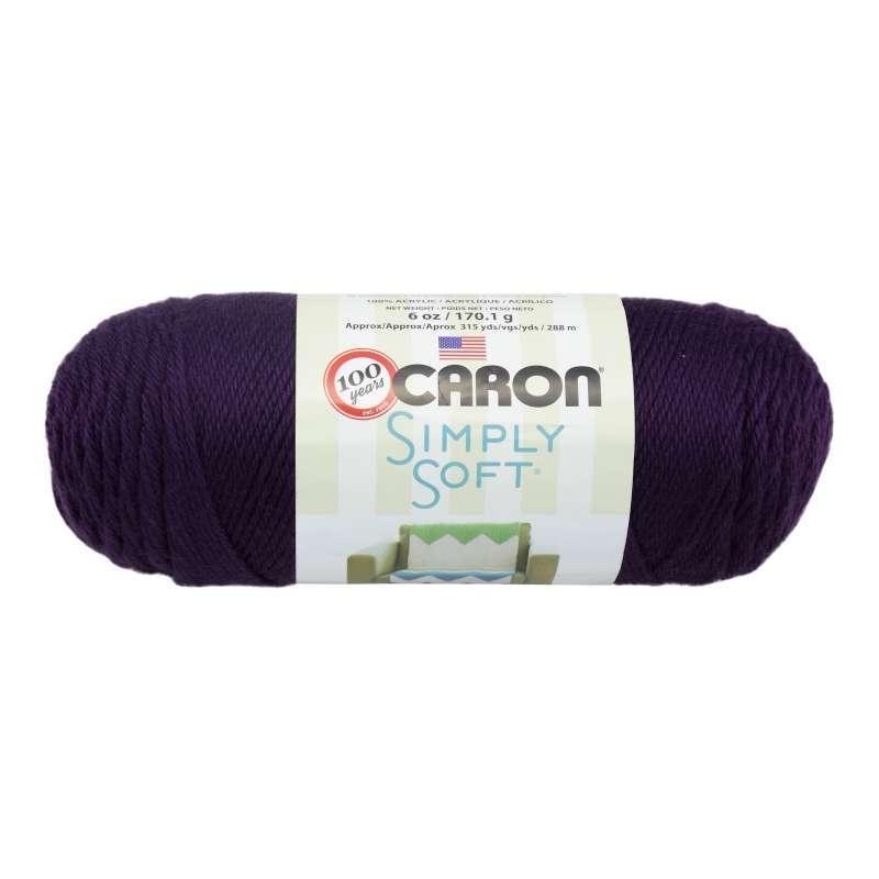 Caron Simply Soft 9761 Plum Perfect