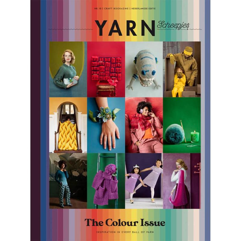 Scheepjes YARN bookazine - The Colour Issue