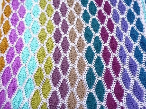 Haakpakket Waves of Glitter deken