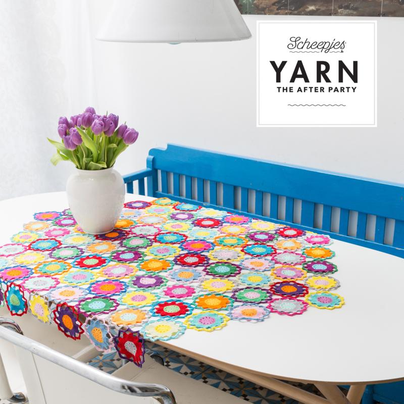 Haakpatroon YARN  Garden Room Tablecloth