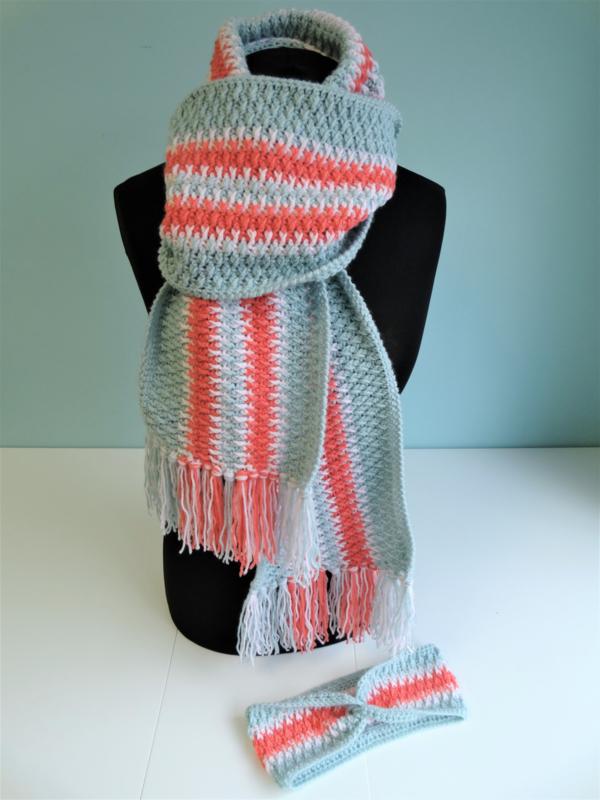 Haakpakket Pine Tree Sjaal
