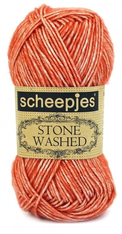 Scheepjeswol Stone Washed 816 Coral