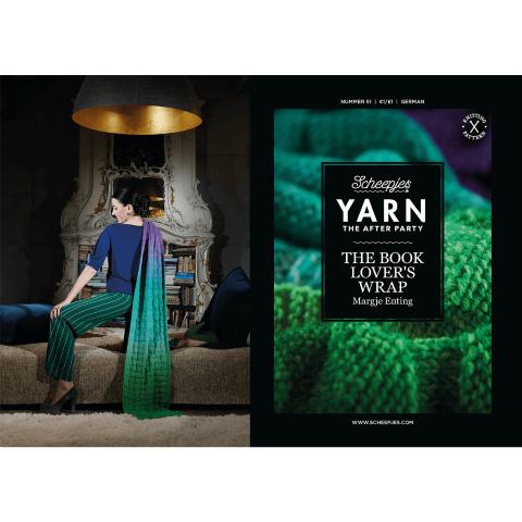 Breipatroon YARN  The Book Lover's Wrap