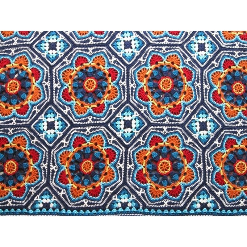 Persian Tiles deken haakpakket Special DK original
