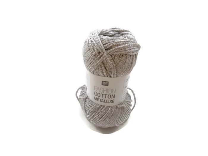 Rico Design Fashion Cotton Métallisé 004