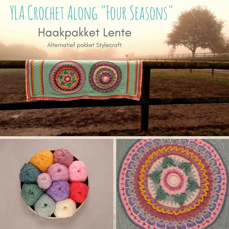 Alternatief Haakpakket YLA CAL Four Seasons - Stylecraft Special DK Lente