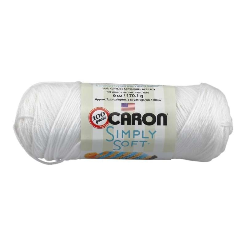 Caron Simply Soft 9701 White