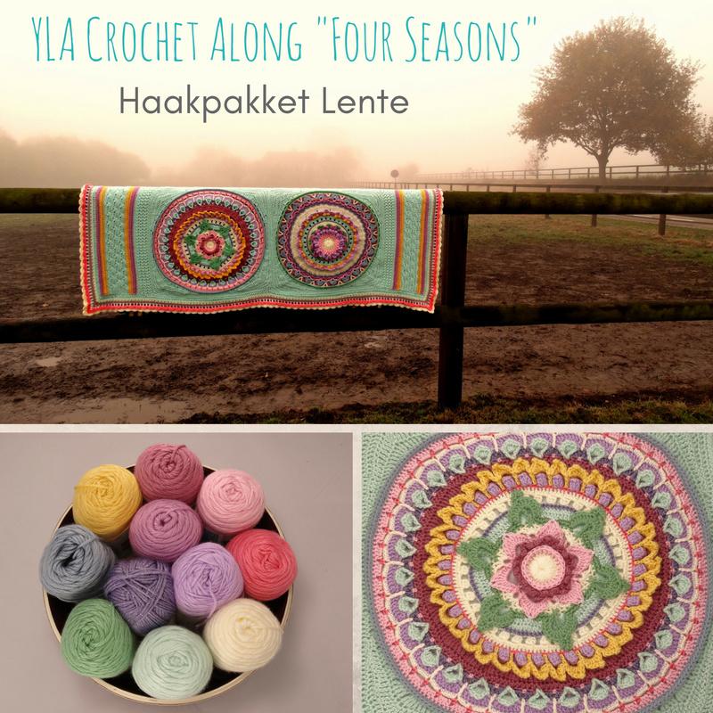 Haakpakket YLA CAL Four Seasons - Caron Lente
