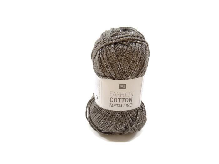 Rico Design Fashion Cotton Métallisé 005