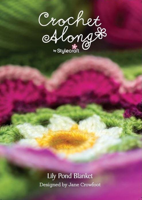 Stylecraft Lily Pond Blanket Pastel Special DK CAL 2015