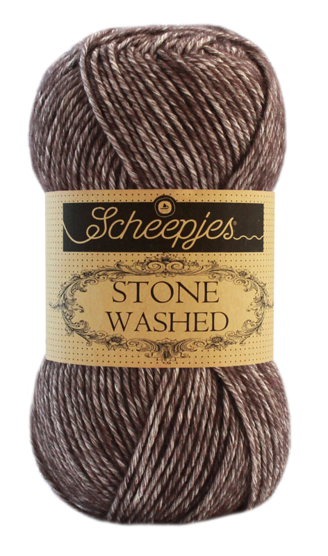 Scheepjeswol Stone Washed 829 Obsidian