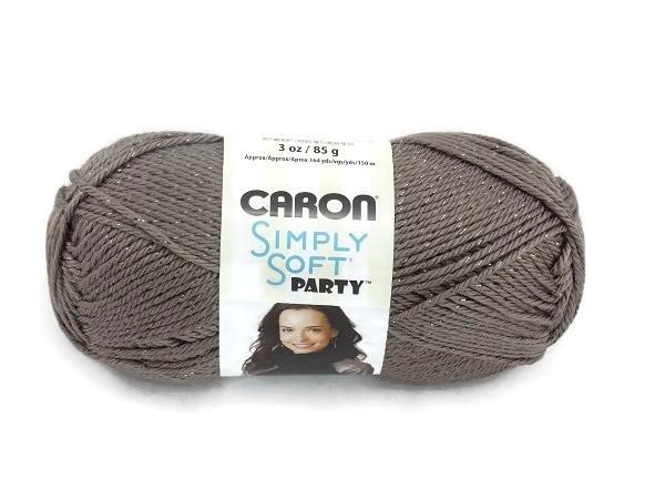 Caron Simply Soft Party 0017 Chocolate Sparkle