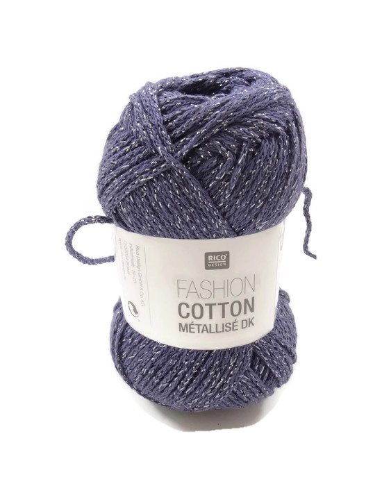 Rico Design Fashion Cotton Métallisé 016