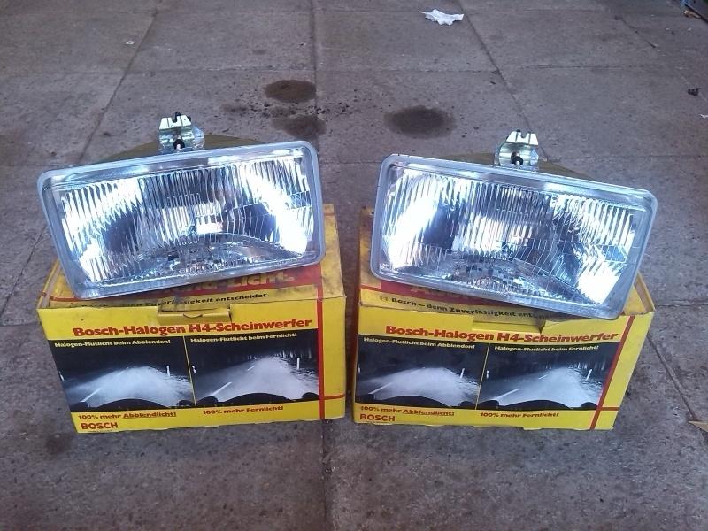 Ford granada / consul mk1 koplampen