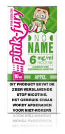 Pink Fury No Name (Appel) 60%VG 40% PG 10ml