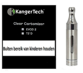 Kanger EVOD 2 Dual coil clearomizer