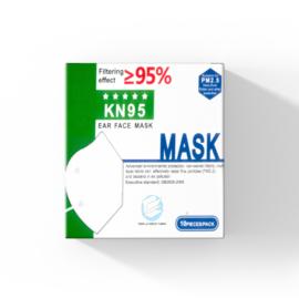 10x KN95 Mondmasker