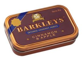 Barkleys Mints Cinnamon & Apple smaak
