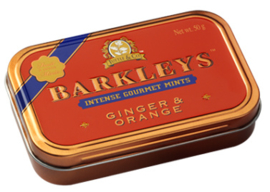 Barkleys Mints Ginger & Orange smaak
