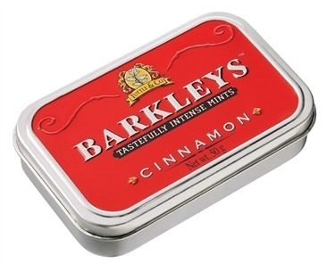 Barkleys Mints Cinnamon smaak