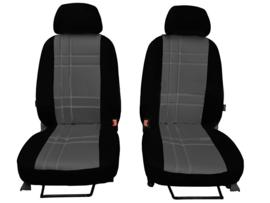 Passform Autositzbezüge Vordersitzen S-Type für CITROËN KUNSTLEDER