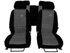 Passform Autositzbezüge S-Type für FORD KUNSTLEDER