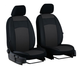 Passform Autositzbezüge Vordersitzen ROYAL für Chevrolet  STOFF+KUNSTLEDER