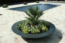 Polyester plantenbak Ø 1530x330
