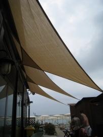 Schaduwdoek langhoek 300 x 300 x 420