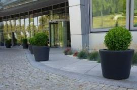 Polyester plantenbak Ø 630x520