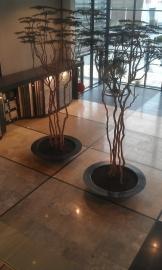 Polyester plantenbak Ø 2000x400