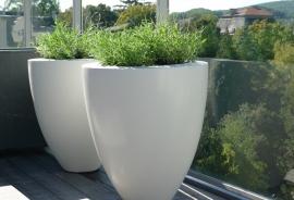 Polyester plantenbak Ø 1000x950