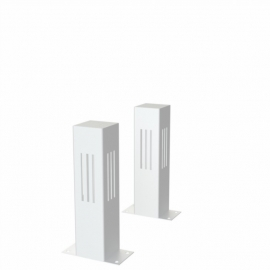 Gecoat stalen lichtkolom Koll2 100x100x400 mm
