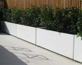 Aluminium plantenbak 1200x500x600