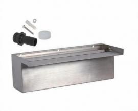 RVS Waterval 600 mm, uitval 50 mm